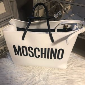 SOLD *********100% authentic moschino tote